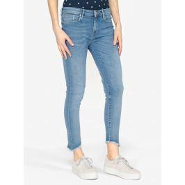 Světle modré dámské skinny džíny Tommy Hilfiger Nanny Dámské kalhoty