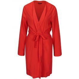 Červené kimono s páskem ONLY Nova Dámská saka