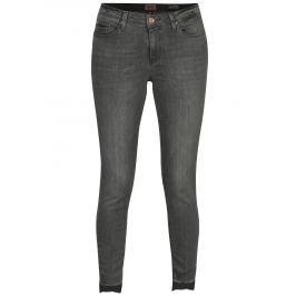 Šedé džíny ONLY Carmen Dámské kalhoty