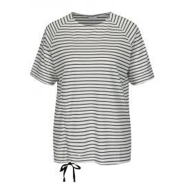 Krémové pruhované tričko Jacqueline de Yong Buzz Dámská trička