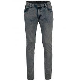 Světle modré pánské slim fit džíny Broadway Tyler Pánské kalhoty