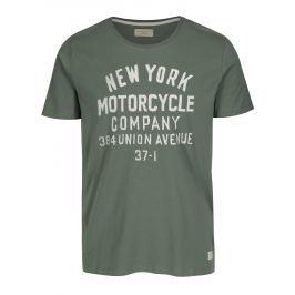 Zelené tričko s potiskem Selected Homme Mike Pánská trička