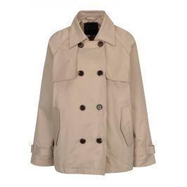 Béžový dámský krátký kabát Broadway Breena Dámské bundy a kabáty