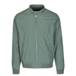 Světle zelená bunda Selected Homme Ban Pánské bundy a kabáty