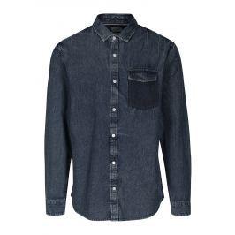 Modrá džínová regular košile ONLY & SONS Neville Pánské košile