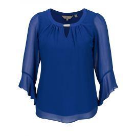 Modrá halenka se zvonovými rukávy Billie & Blossom  Dámské halenky a košile