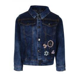 Modrá džínová holčičí bunda small rags Gerda  Dětské bundy a kabáty