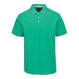 Zelené slim fit  polo tričko s výšivkou Hackett London Swim Pánská trička