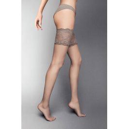 Samodržící punčochy Desiderio naturale Spodní prádlo
