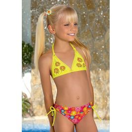 Dívčí plavky Flower M46