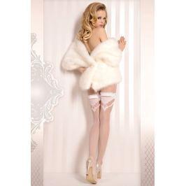 Luxusní samodržící punčochy Wedding 375 Spodní prádlo