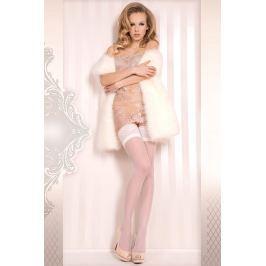 Luxusní samodržící punčochy Wedding Spodní prádlo