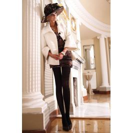 Elegantní punčochové kalhoty Glamour Soft Black Spodní prádlo
