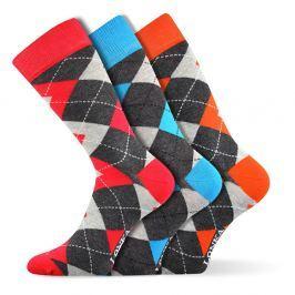 3pack módních ponožek Woodoo MixF