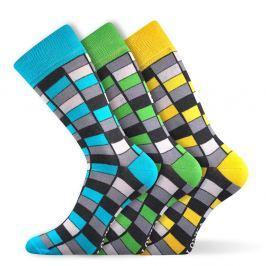 3pack módních ponožek Woodoo MixG