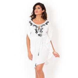 Dámské letní šaty David Mare Peyote White