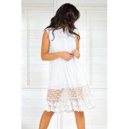 Dámské letní košilové šaty Iconique IC8017White