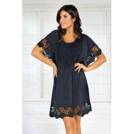 Dámské letní šaty Iconique IC8013 Black