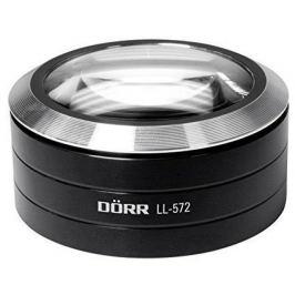 DORR lupa příložná 5x s LED osvětlením