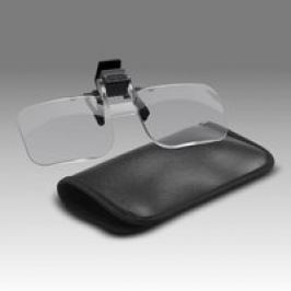 DIOPTRA lupa klip na brýle 1,5x (2,25D)